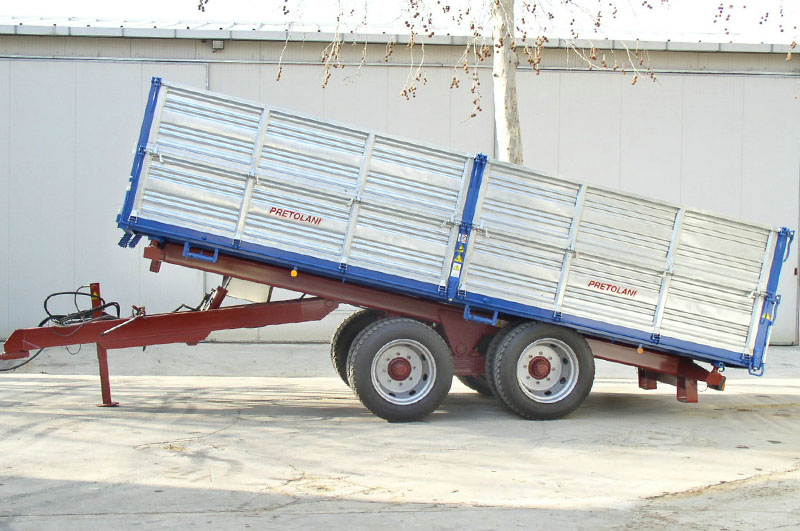 carrellone agricolo 2 assi usato dispositivo arresto motori lombardini